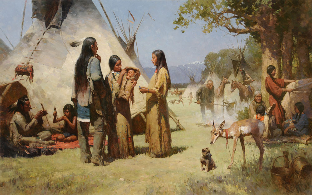 an analysis of the topic of the american west and the story of the indian tribes The outbreak of the american revolution had great consequences for the indian peoples of north america they understood the revolution was a contest for indian lands as well as for liberty some groups, such as the cherokee warriors, defied their elders and attacked frontier settlements all along the southern frontier.