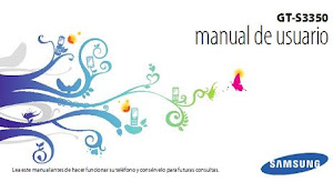 Manual de Usuario Samsung GT-S3350