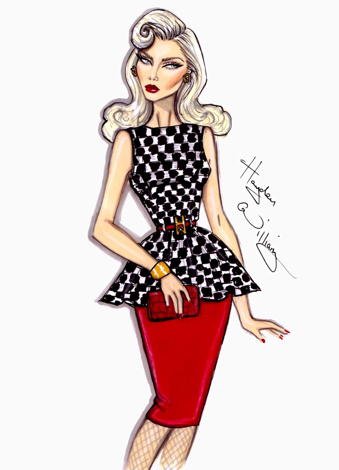 Fashion Illustrations Hayden Williams...
