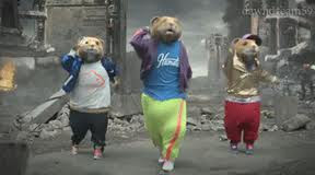 kia hamsters dancing to party rock anthem