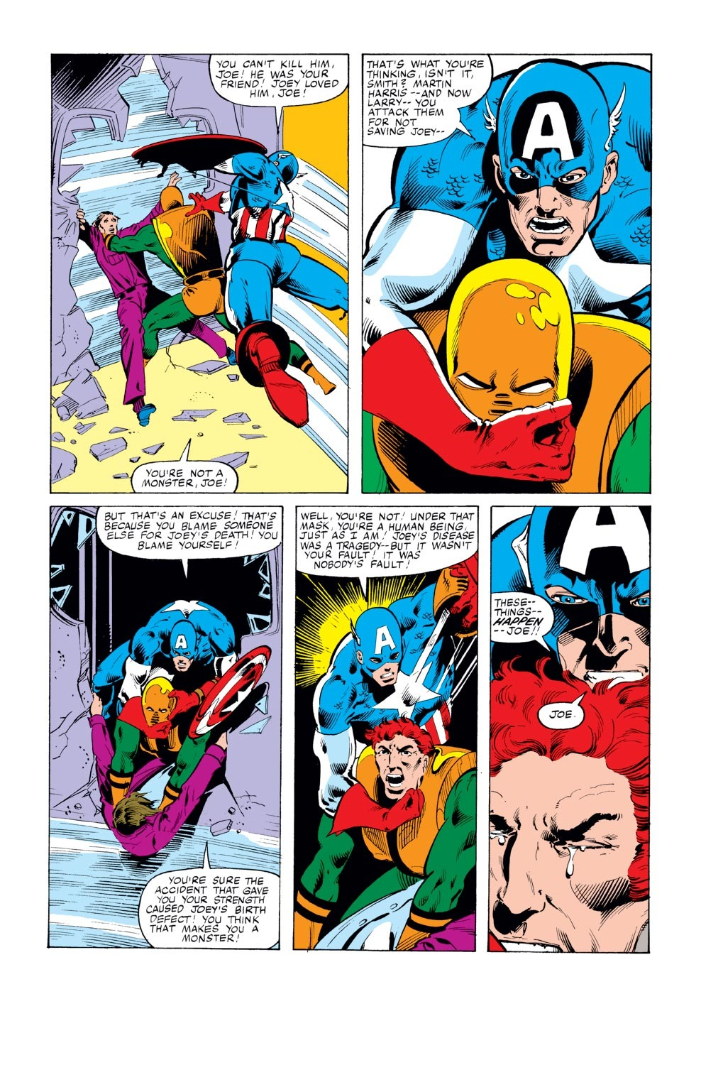 Captain America (1968) Issue #246 #161 - English 17