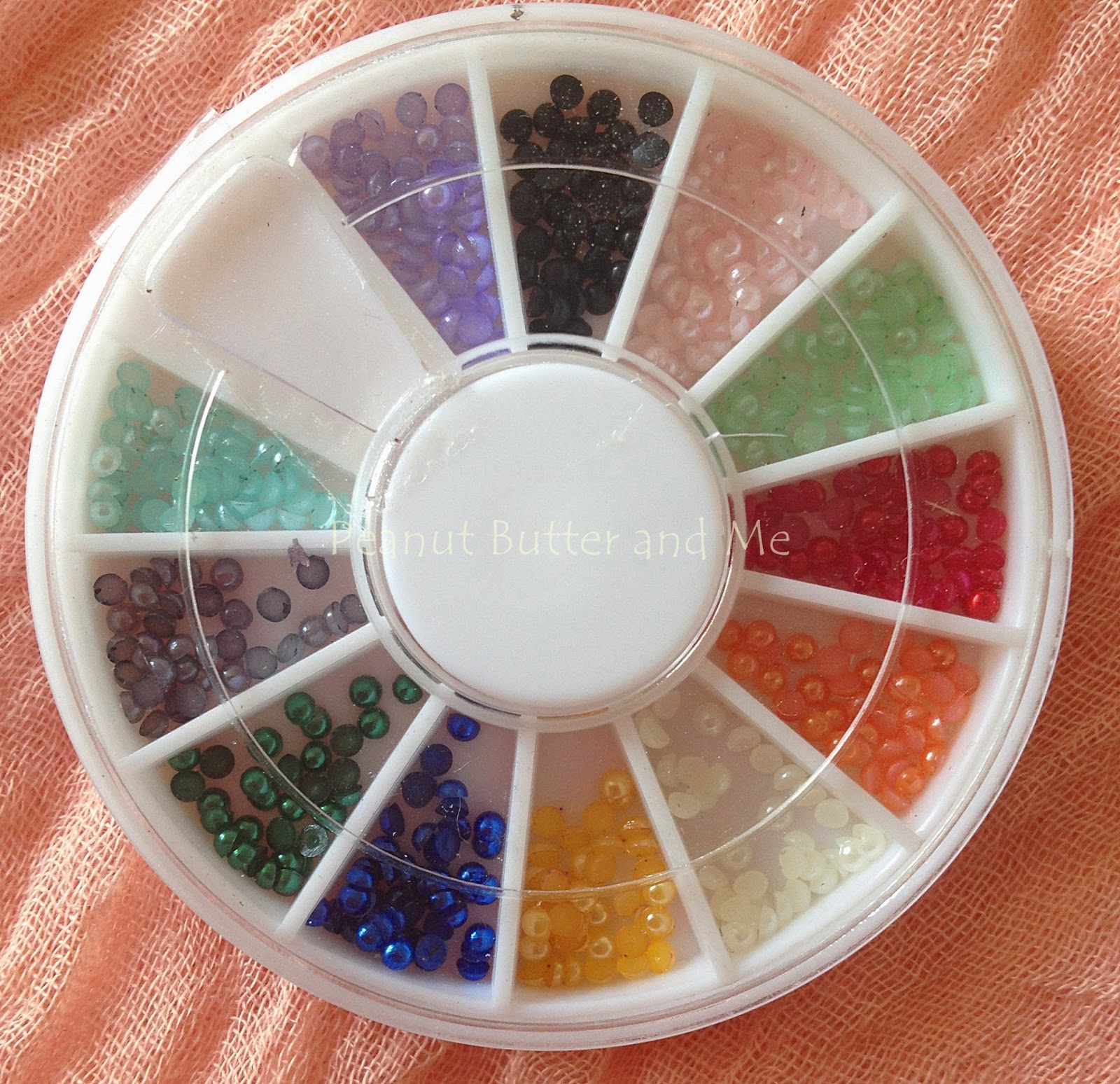 ebay nails amio glitter perl sticker nail art water