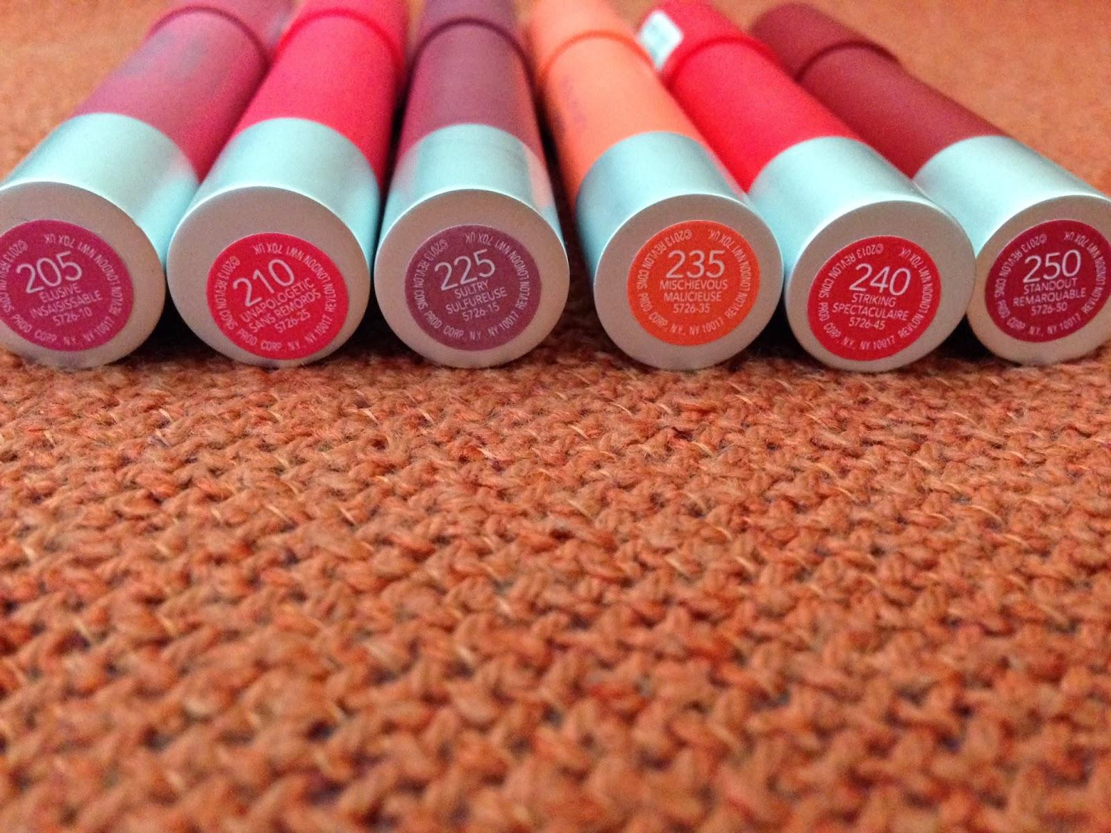 Revlon Colorburst Matte Balm Part 1 Elusive Unapologetic Collorbust Sultry