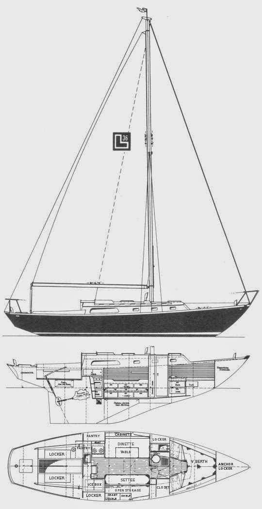 1969 Cheoy Lee Luders 36'