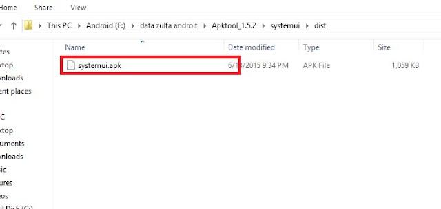 cara mudah decompile dan cekompile APK dg pc