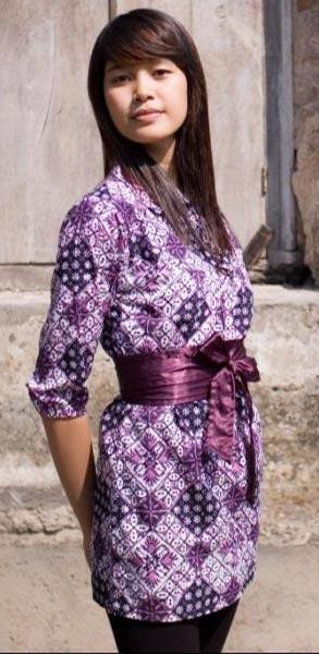 Model Baju Batik Wanita Terbaru 2013