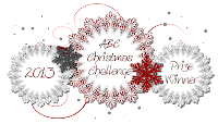 gagnante chez ABC Christmas Challenge