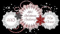 gagnante chez ABC Christmas Challenge