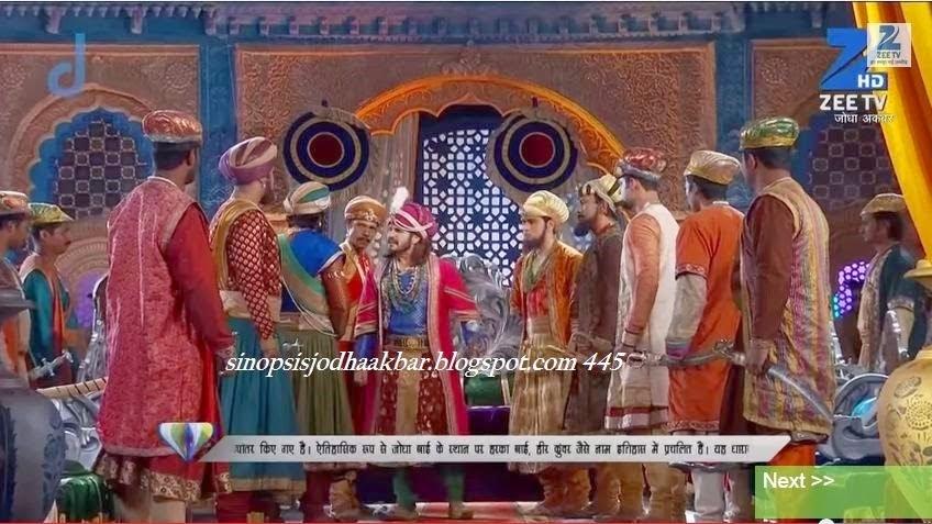 Sinopsis Jodha Akbar Episode 442