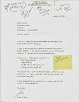 Brady Letter Larsen Blog