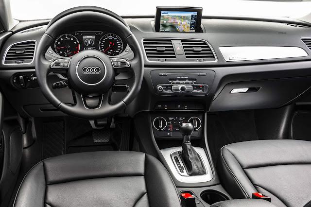novo Audi q3 2016 - interior - painel