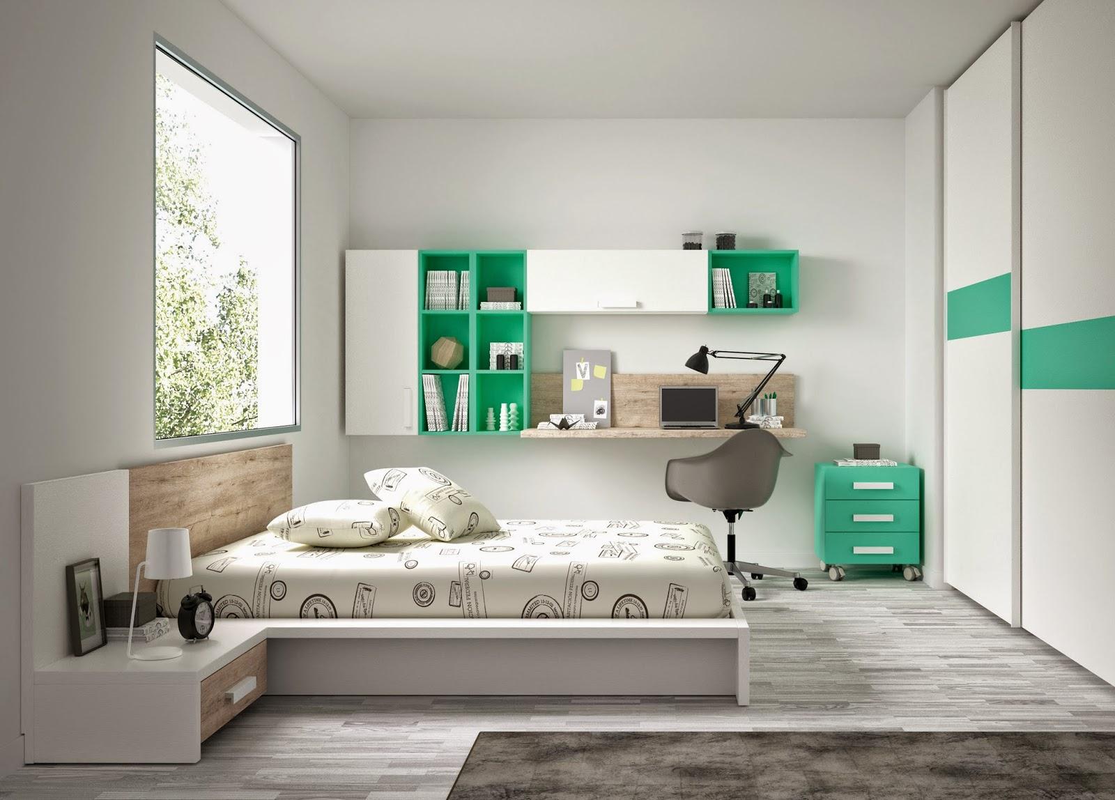 Habitacion Juveniles Dormitorios Juveniles De La Firma Kiona  ~ Habitaciones Juveniles De Madera