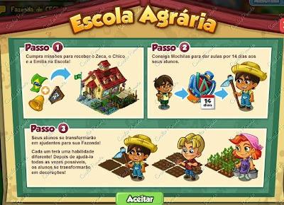 Projeto: Escola Agrária