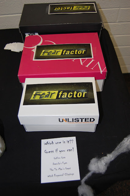 Fear Factor Halloween Party Ideas