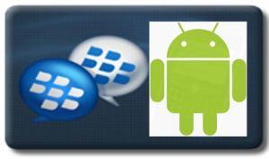 Aplikasi BBM lewat HP Android