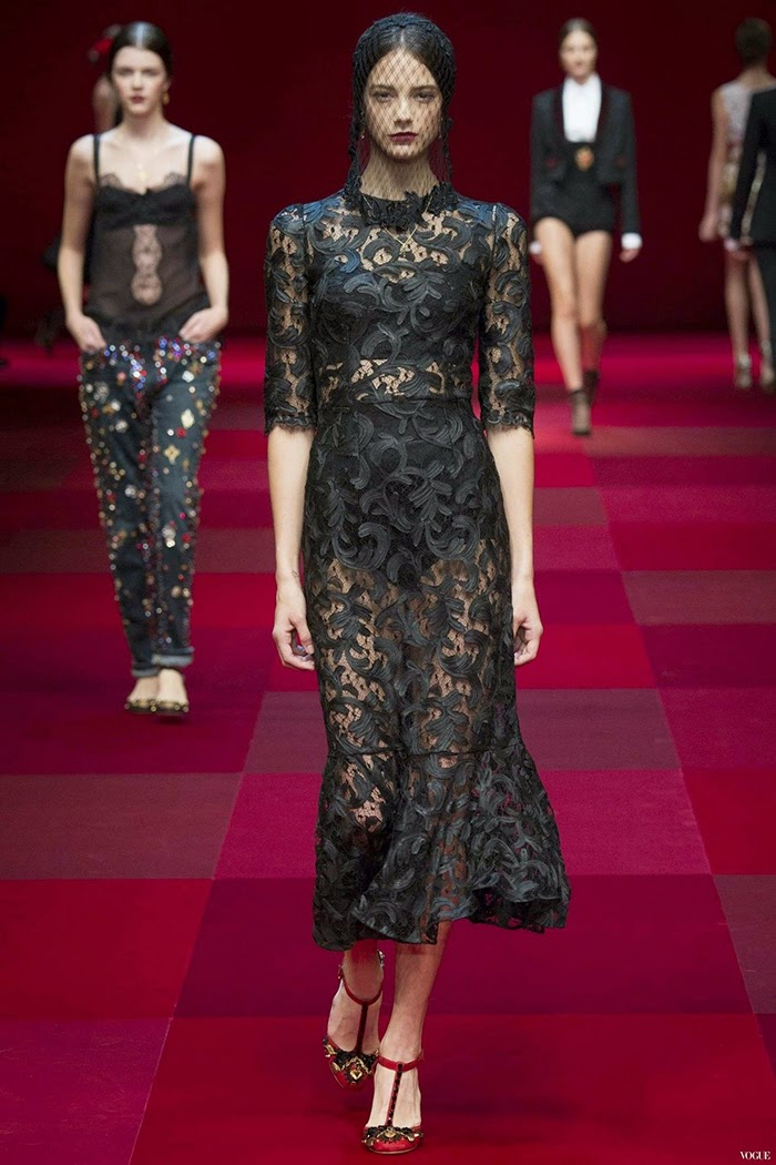 Dolce & Gabbana Ready To Wear Spring Summer 2015 Milan Part 2