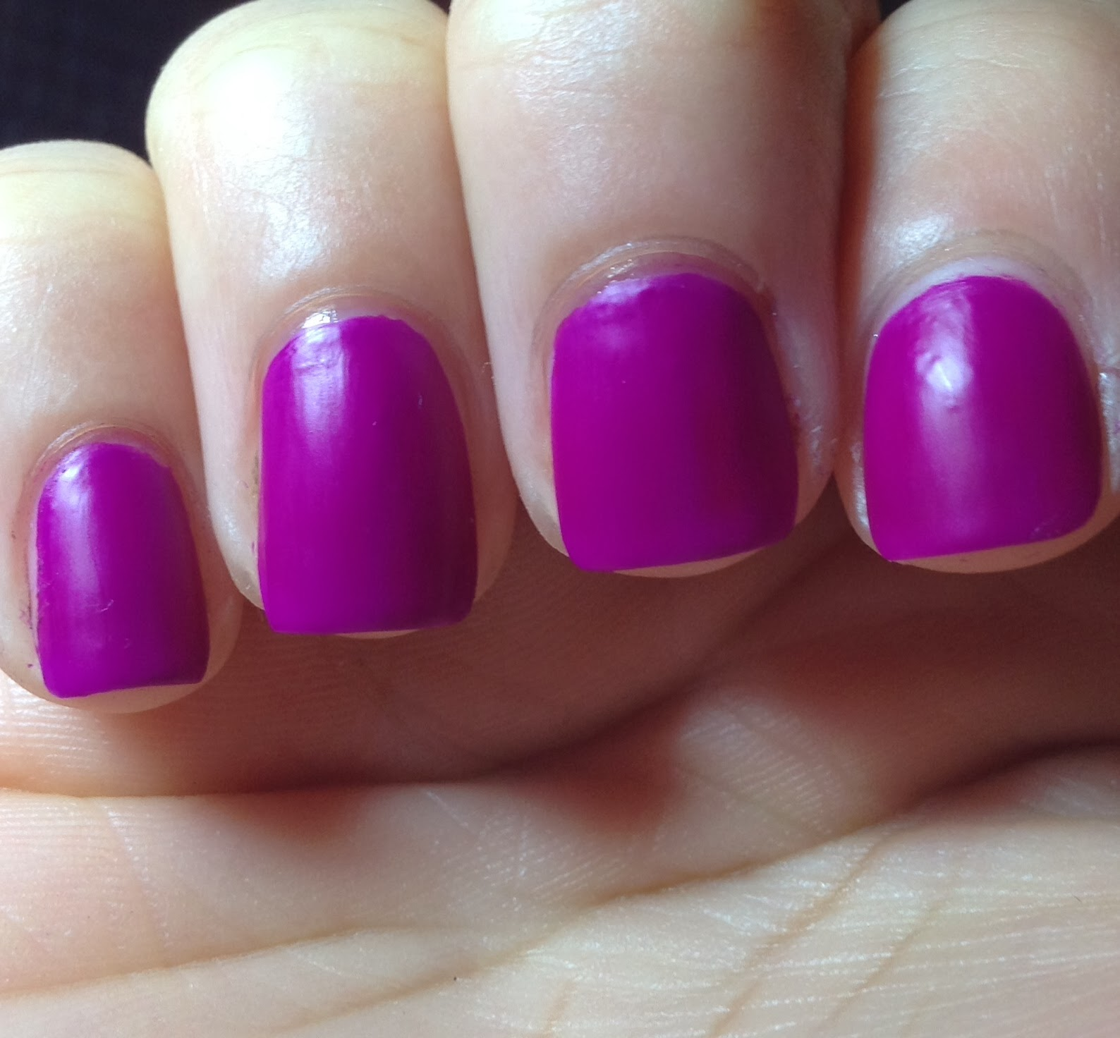 Day 34: Julie Nail Polish Review - Matte Polish - Rite Aid Store