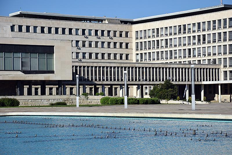 Palata Srbije - fontana