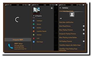 BBM Mod Theme Dark Mini 2.12.0.9 .APK