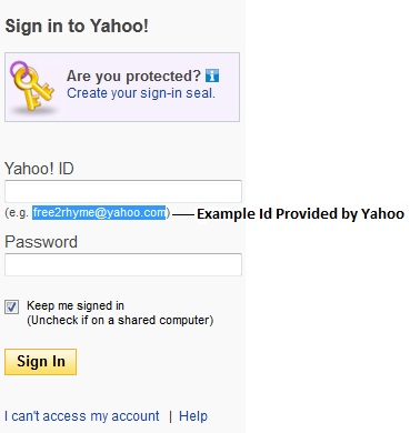 exle of yahoo id what is the meaning of free2rhyme yahoo yahoo mail