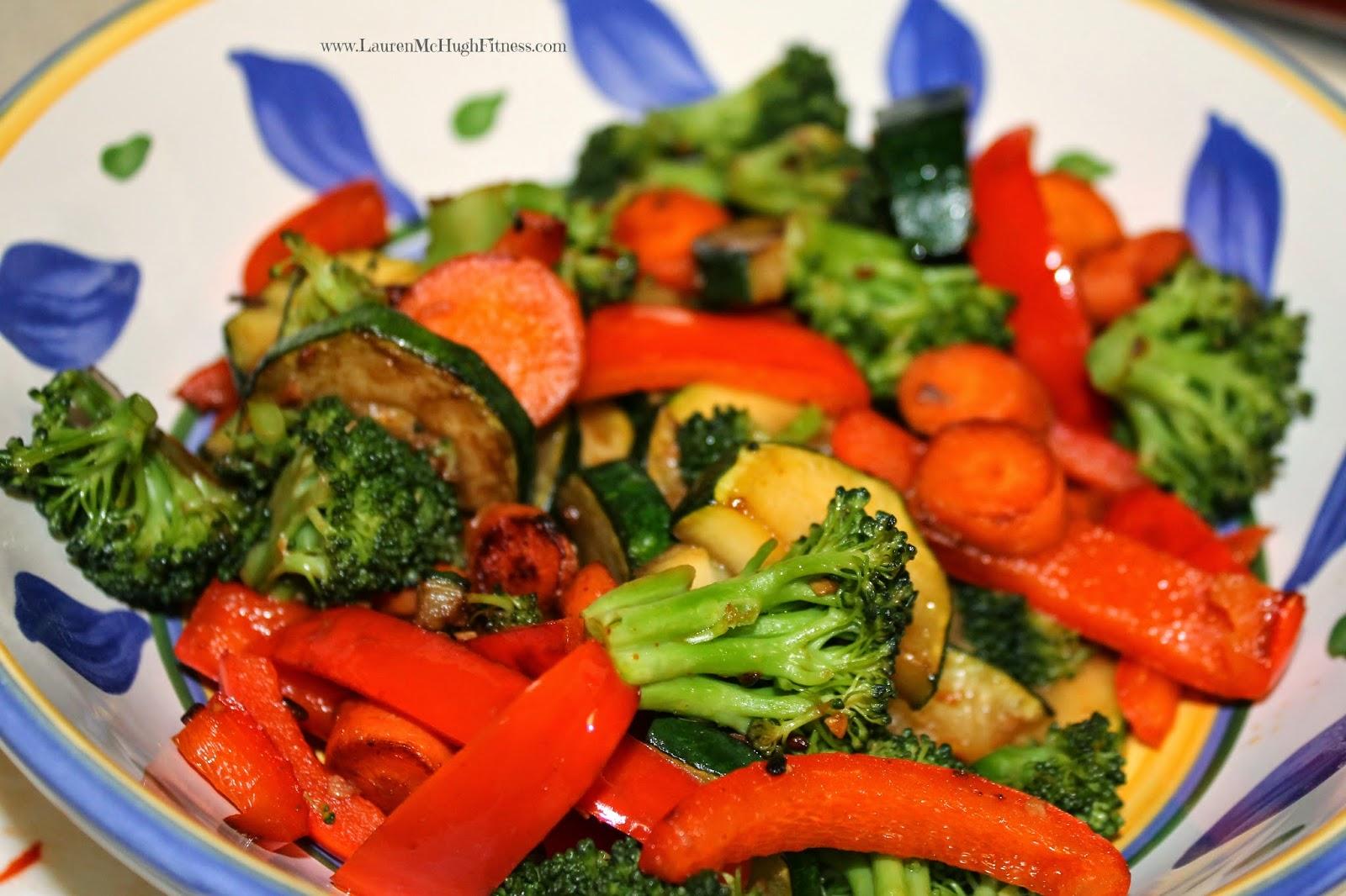 veggie stirfry
