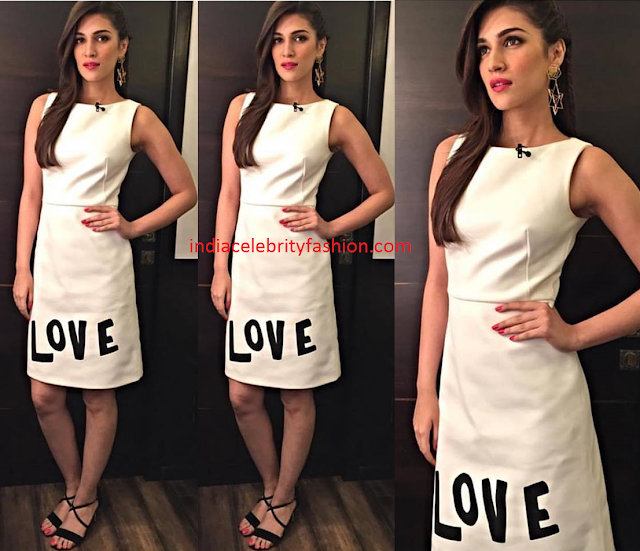 Kriti Sanon in Osman Studio White Dress