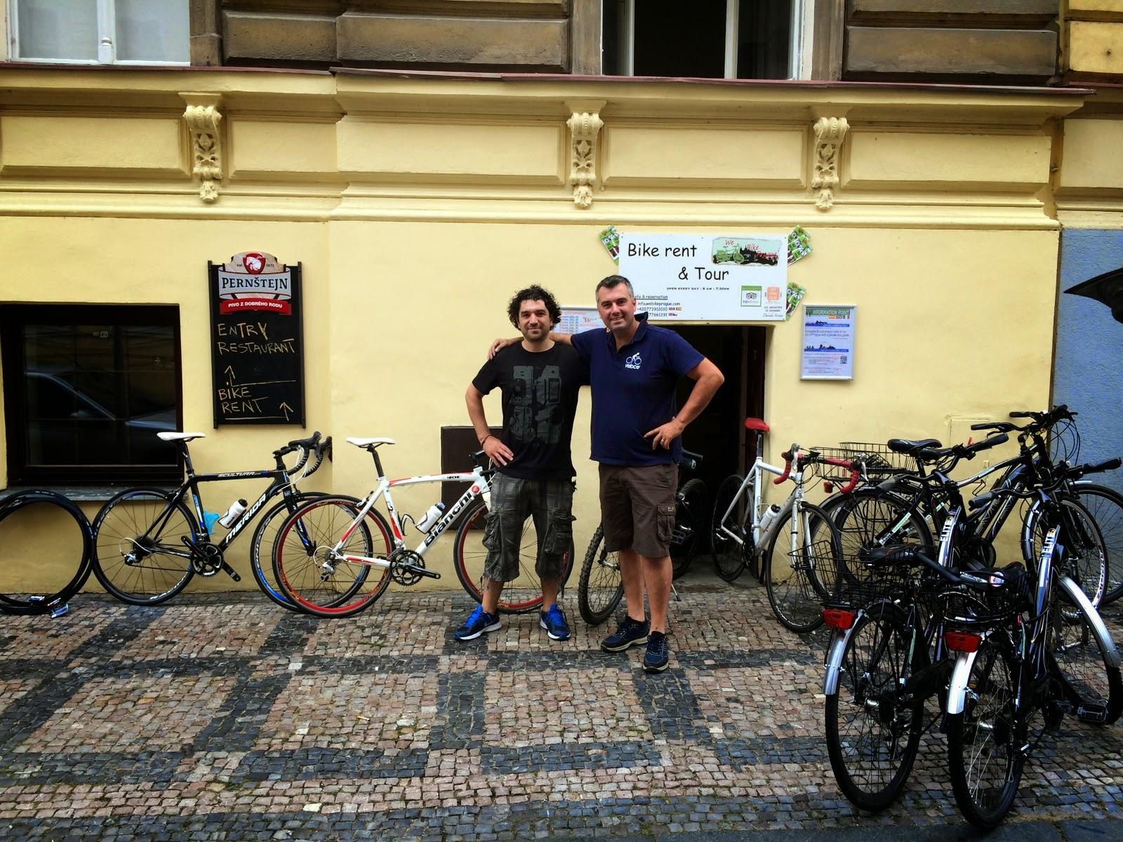 cycling praha