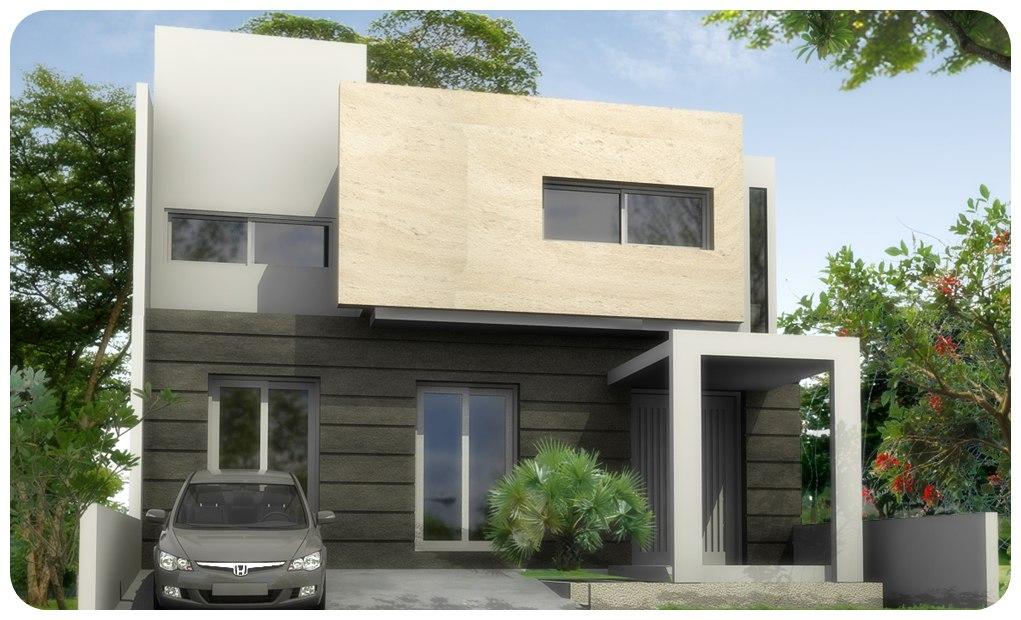 Contoh Desain Rumah Minimalis