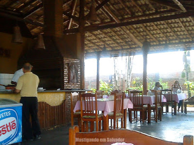 Restaurante Sertão e Mar: Ambiente interno