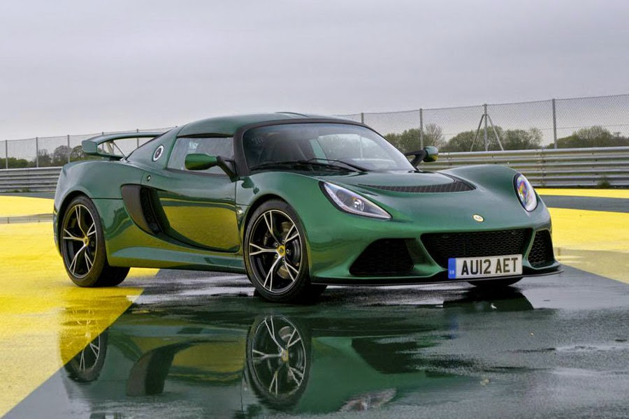 Lotus Exige S Automatic (2015) Front Side