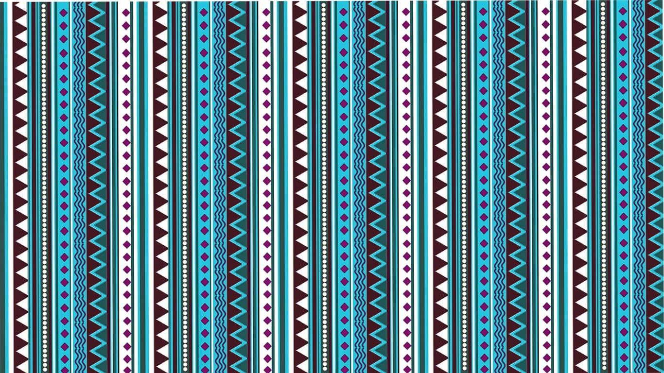 lovedandsign aztec pattern wallpaper