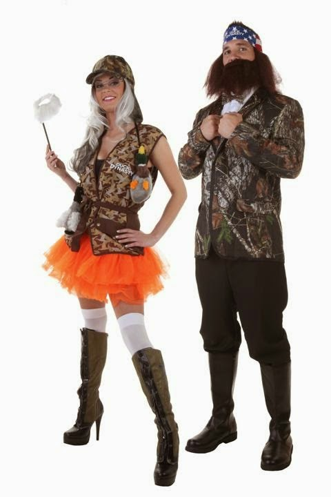 Duck Dynasty Couple Halloween Costume