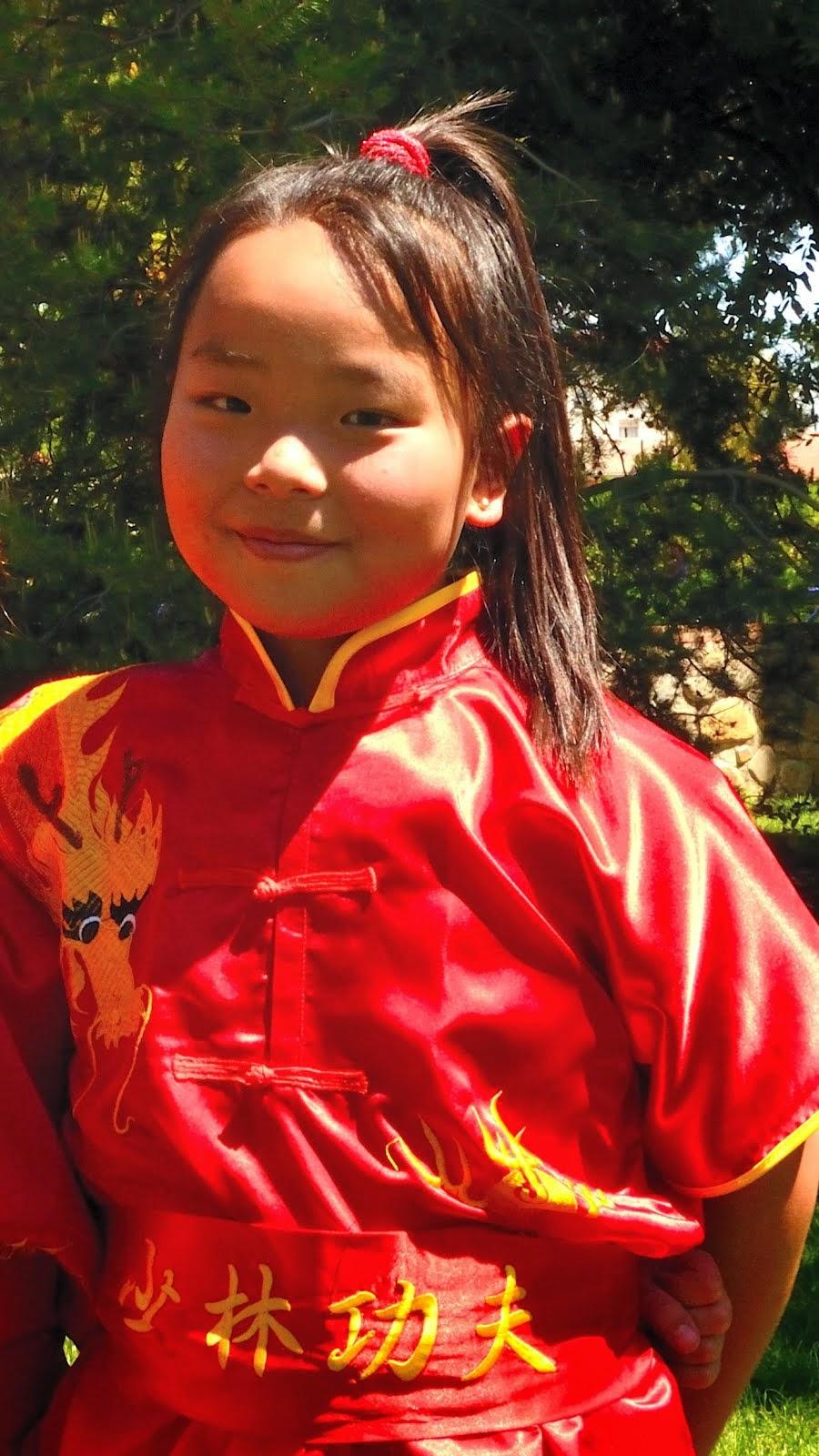 Infantil Wushu Kung fu