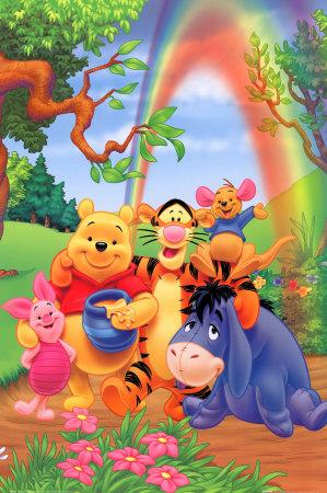 imágenes animadas de amistad en osito pooh