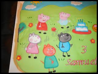 peppa pig e i suoi amici per samuele