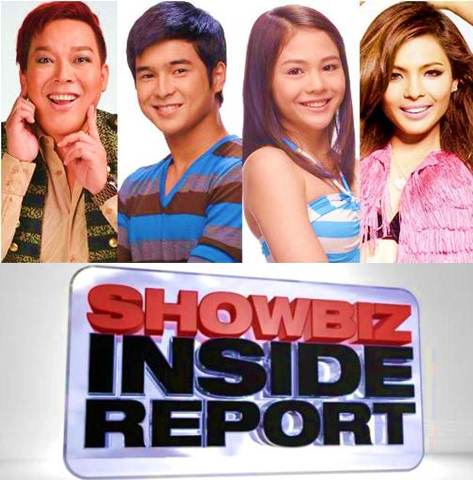 John Lapus, Jerome Ponce, Janella Salvador and Lovi Poe on Showbiz Inside Report this April 20