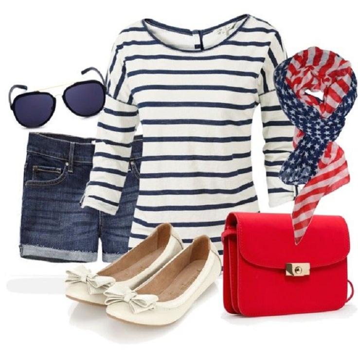 Top 10 summer fashion outfits for 2013 - USA flag
