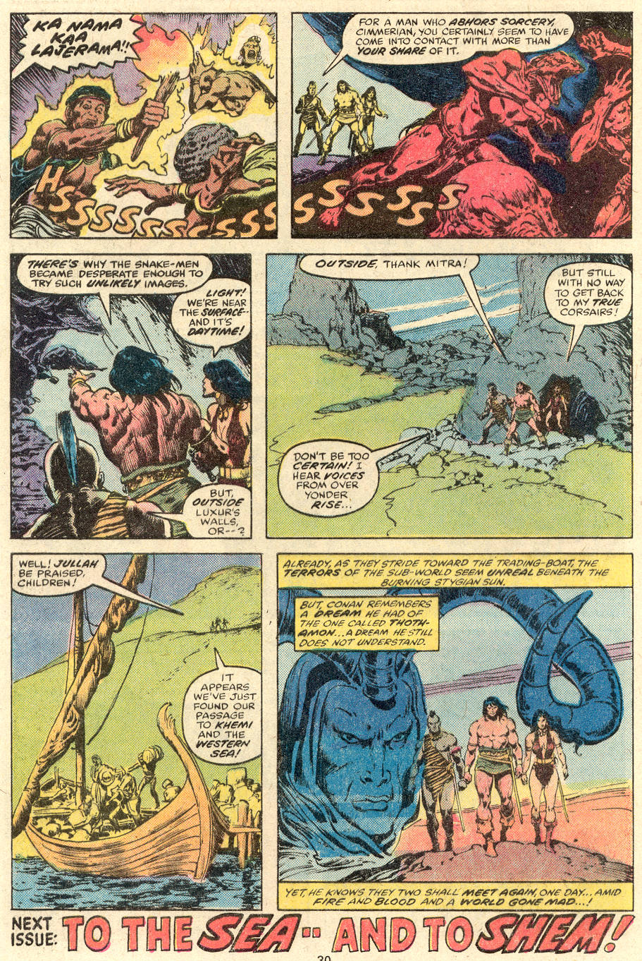 Conan the Barbarian (1970) Issue #89 #101 - English 18