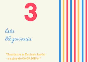 Urodziny blogowe u Lenki