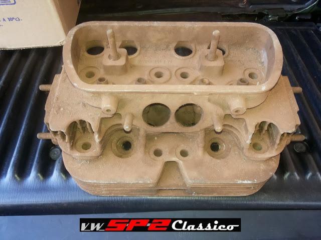 Cabeçotes originais 1700 Volkswagen SP2_c