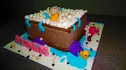 Alden's Bathtub Cake