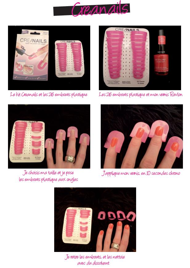 Creanails ongles beauté beauty
