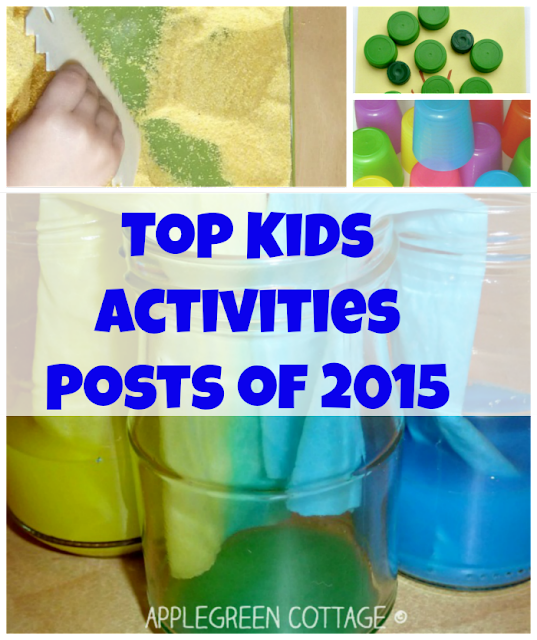 Top kids activities posts you loved most in 2015 - it's the colorful ones, off course!