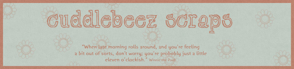 The CuddleBeez Blog