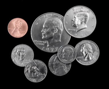 US President on Coins