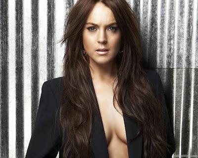 Lindsay Lohan Pop Singer Wallpaper-1600x1200