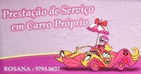 Prestação de serviço - Rosana (16) 99793-0637 - São Carlos, SP