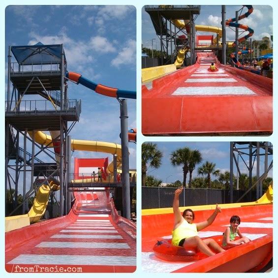 boomerango water slide
