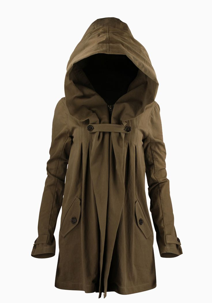 Adorable Anthro hood Jacket winter fashion
