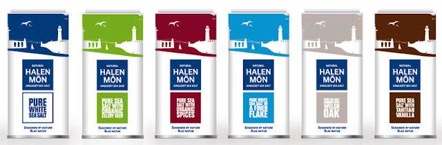 anglesey sea salt company the current 100g range